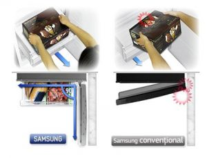 Samsung RB31FDRNDSA acces Full Open Box