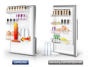 Samsung RB31FDRNDSA spatiu Big Guard